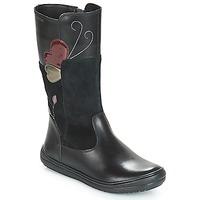 鞋子 女孩 都市靴 Geox 健乐士 J HADRIEL 黑色