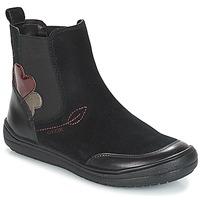鞋子 女孩 短筒靴 Geox 健乐士 J HADRIEL GIRL 黑色