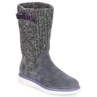 鞋子 女孩 都市靴 Geox 健乐士 J THYMAR GIRL 灰色