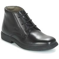 鞋子 男孩 短筒靴 Geox 健乐士 JR FEDERICO 黑色