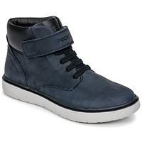 鞋子 男孩 高帮鞋 Geox 健乐士 J RIDDOCK BOY WPF 海蓝色