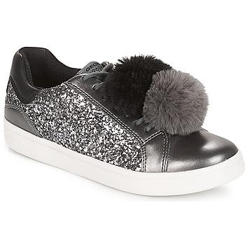 鞋子 女孩 球鞋基本款 Geox 健樂士 J DJROCK GIRL 灰色