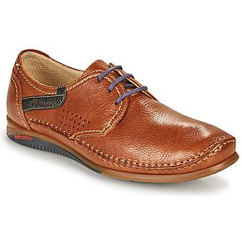鞋子 男士 德比 Fluchos 富乐驰 CATAMARAN 棕色