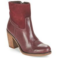 鞋子 女士 短靴 Casual Attitude WASRAH 波尔多红