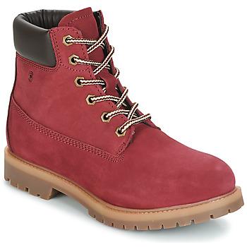 鞋子 女士 短筒靴 Casual Attitude JORD 红色