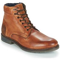 鞋子 男士 短筒靴 Bugatti ROPARA 棕色
