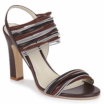 鞋子 女士 凉鞋 Jil Sander JS16121 棕色