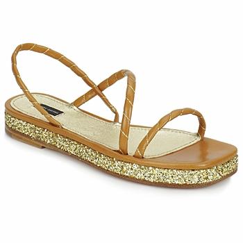 鞋子 女士 凉鞋 Marc Jacobs MJ16405 棕色 / 金色