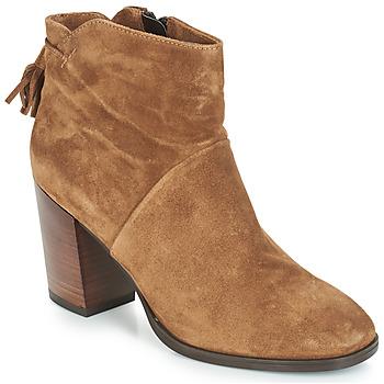 鞋子 女士 短筒靴 André CARESSE 驼色