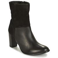 鞋子 女士 短靴 André PANDA 黑色