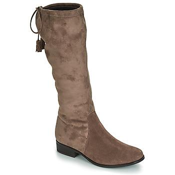 鞋子 女士 都市靴 André POLKA 灰褐色
