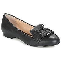 鞋子 女士 皮便鞋 André PAPAYE 黑色