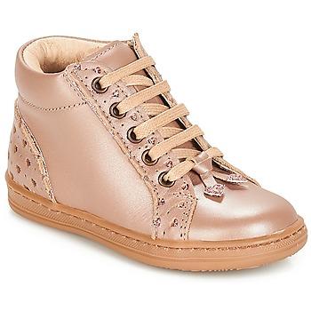 鞋子 女孩 短筒靴 André PETIT COEUR 米色