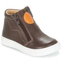 鞋子 男孩 短筒靴 André HECTOR 棕色