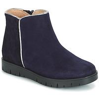 鞋子 女孩 短筒靴 André SAVANNAH 海藍色