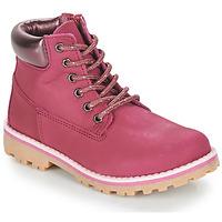 鞋子 女孩 短筒靴 André ALMA 紫紅色