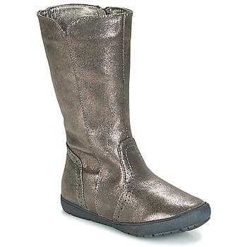 鞋子 女孩 都市靴 André SCINTILLANTE 銀色