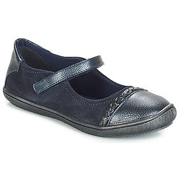 鞋子 女孩 平底鞋 André LOUISA 海蓝色