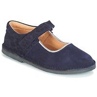 鞋子 女孩 平底鞋 André AURORA 海藍色