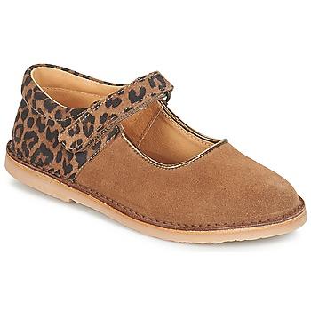 鞋子 女孩 平底鞋 André AURORA 駝色
