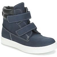 鞋子 男孩 短筒靴 André ALESSIO 海藍色