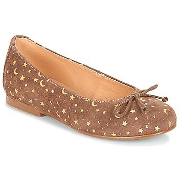 鞋子 女孩 平底鞋 André MOON 灰褐色