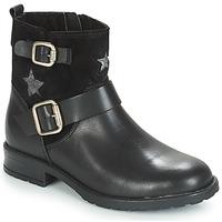 鞋子 女孩 短筒靴 André COUNTRY GIRL 黑色