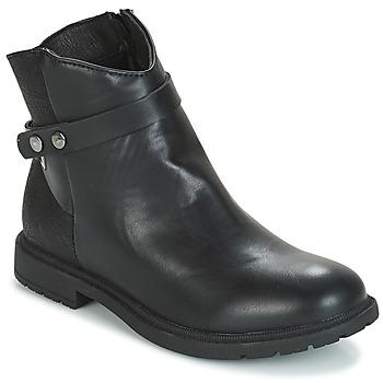 鞋子 女孩 短筒靴 André LOELIE 黑色