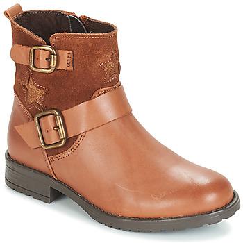 鞋子 女孩 短筒靴 André COUNTRY GIRL 駝色