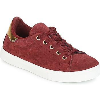 鞋子 女孩 球鞋基本款 André TALIA 波爾多紅