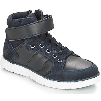 鞋子 男孩 高幫鞋 André TOM 海藍色