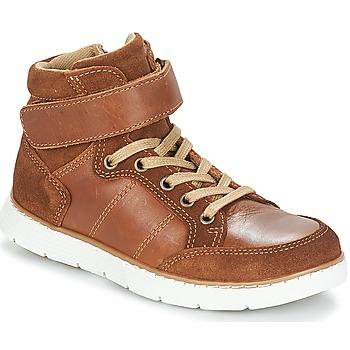 鞋子 男孩 短筒靴 André TOM 棕色