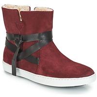 鞋子 女士 短筒靴 André ALTHEA 波尔多红
