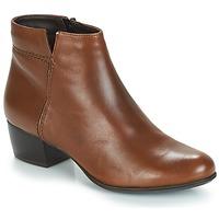 鞋子 女士 短靴 André PRIME 棕色