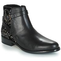 鞋子 女士 短筒靴 André CAVIAR P 黑色