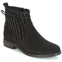 鞋子 女士 短筒靴 André MEXICA 黑色