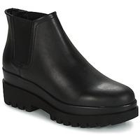 鞋子 女士 短筒靴 André EMMA 黑色