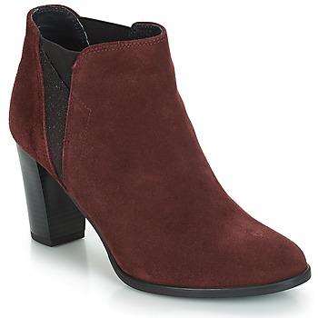 鞋子 女士 短靴 André ROSACE 波尔多红