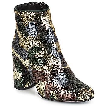 鞋子 女士 短靴 André REQUIEM 金色