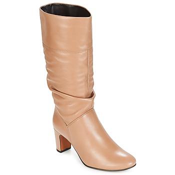 鞋子 女士 都市靴 André SARA 米色