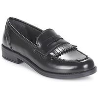鞋子 女士 皮便鞋 André MAEVA 黑色