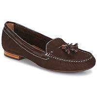 鞋子 女士 皮便鞋 André DANY 棕色