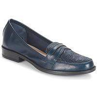 鞋子 女士 皮便鞋 André LONG ISLAND 海蓝色