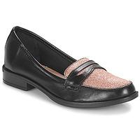 鞋子 女士 皮便鞋 André LONG ISLAND 黑色