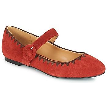 鞋子 女士 平底鞋 André ALBOROZA 紅色