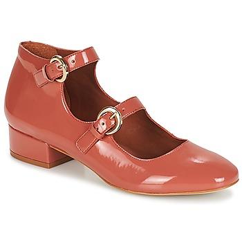 鞋子 女士 平底鞋 André GABIE 玫瑰色