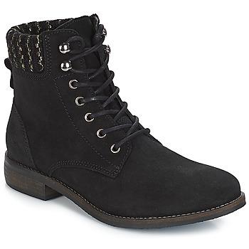 鞋子 女士 短筒靴 André CARMINA 黑色
