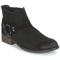 鞋子 女士 短筒靴 André ELBA 黑色