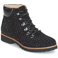 鞋子 女士 短筒靴 André CALCEDOINE 黑色