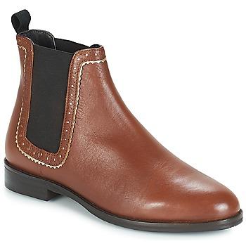 鞋子 女士 短筒靴 André CARLOTA 棕色